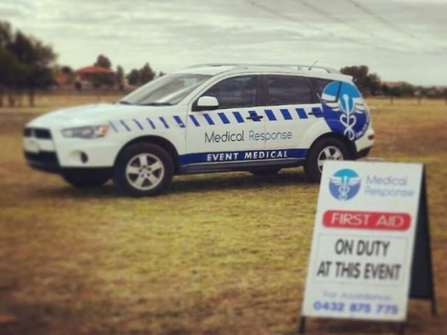 medical response car